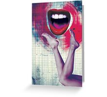 Color Chaos Collection -- Bla Bla Bla Greeting Card