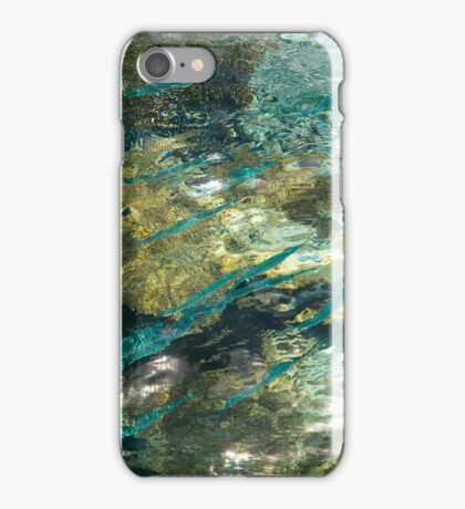 Abstract of the Underwater World. Production by Nature iPhone Case/Skin