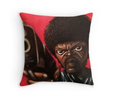 Jules from Pulp Fiction Throw Pillow