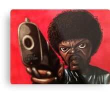 Jules from Pulp Fiction Metal Print