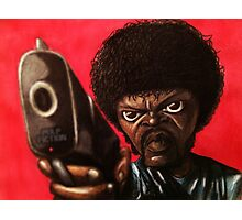 Jules from Pulp Fiction Photographic Print