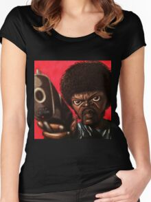 Jules from Pulp Fiction Women's Fitted Scoop T-Shirt