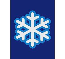 Snow snowflake Photographic Print