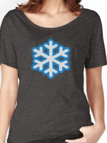 Snow snowflake Women's Relaxed Fit T-Shirt