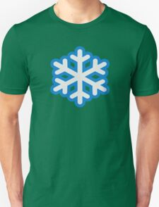 Snow snowflake Unisex T-Shirt