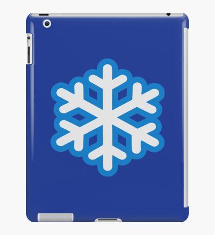 Snow snowflake iPad Case/Skin