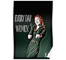 everyday woman Poster