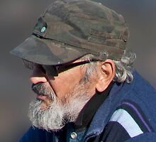Beard, Shades, And Cap by phil decocco