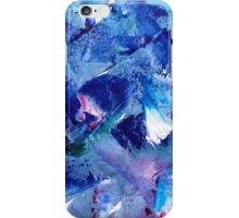 Blue Brush iPhone Case/Skin