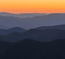 Seven Layer Sunset by MatthewAlverson