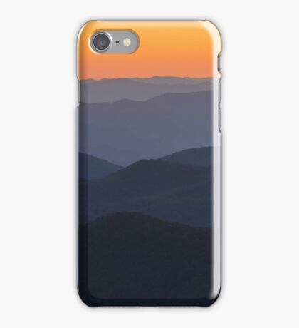Seven Layer Sunset iPhone Case/Skin