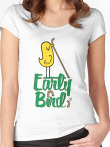 Early Bird Women's Fitted Scoop T-Shirt