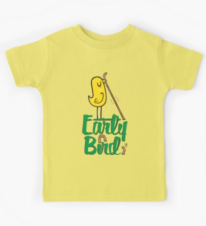 Early Bird Kids Tee