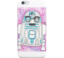 R2D2'S NOT HERE iPhone Case/Skin