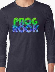 Prog Rock Liquid Long Sleeve T-Shirt