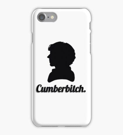 Cumberbitch silhouette design iPhone Case/Skin