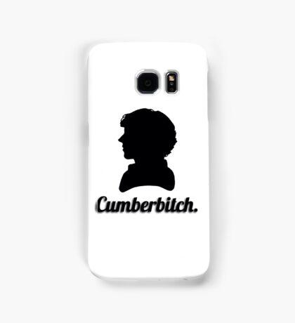 Cumberbitch silhouette design Samsung Galaxy Case/Skin