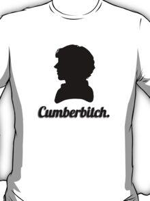 Cumberbitch silhouette design T-Shirt