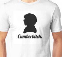 Cumberbitch silhouette design Unisex T-Shirt