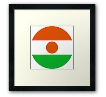 Niger Air Force - Roundel Framed Print