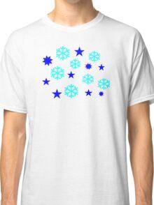 Snowflakes stars Classic T-Shirt