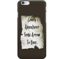 Lonely Adventurer iPhone Case/Skin
