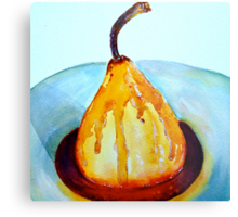 Delicious..Poached Pear in a  Mixed Berry Coulis Metal Print