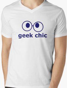 Geek Chic Mens V-Neck T-Shirt