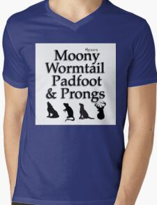 Marauders Harry Potter design Mens V-Neck T-Shirt