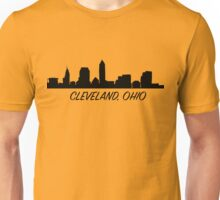 Cleveland Ohio Skyline City  Unisex T-Shirt