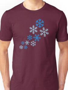 Winter snowflakes Unisex T-Shirt