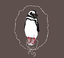 Happy Penguin in Converse Unisex T-Shirt