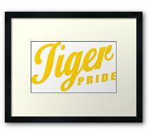 Tiger Pride! 3 Framed Print