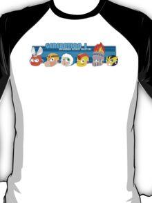 Megaman Generation 1 Robot Masters T-Shirt