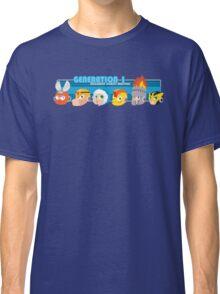 Megaman Generation 1 Robot Masters Classic T-Shirt