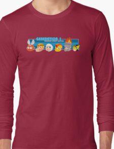 Megaman Generation 1 Robot Masters Long Sleeve T-Shirt