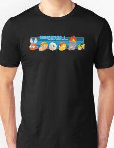 Megaman Generation 1 Robot Masters Unisex T-Shirt