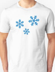 Snowflakes ice T-Shirt
