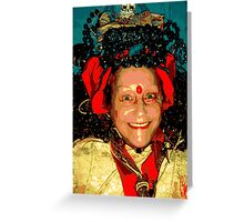 Hindu Bev  Greeting Card