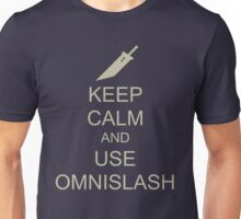 KEEP CALM AND USE OMNISLASH Unisex T-Shirt