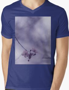 Tree blossom flowers on spring day in Spain Hasselblad square medium format film analogue photography Mens V-Neck T-Shirt