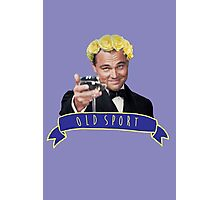 Gatsby - old sport Photographic Print