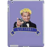 Gatsby - old sport iPad Case/Skin