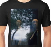 Surreal shop dummy mannequin portrait square color analogue medium format film still life Hasselblad  photo Unisex T-Shirt