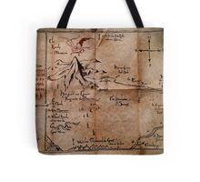 Thror's Map | Thorin Oakenshield's Map - Digital Artwork  Tote Bag