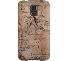 Thror's Map | Thorin Oakenshield's Map - Digital Artwork  Samsung Galaxy Case/Skin