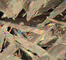 Acetylsalicylic acid under a microscope.  by Zosimus