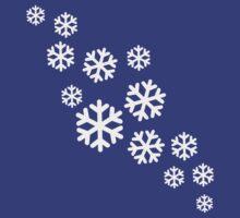 White snowflakes by Designzz