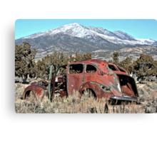 Lost Sedan 2 Canvas Print