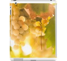 Harvest Time. Sunny Grapes IV iPad Case/Skin